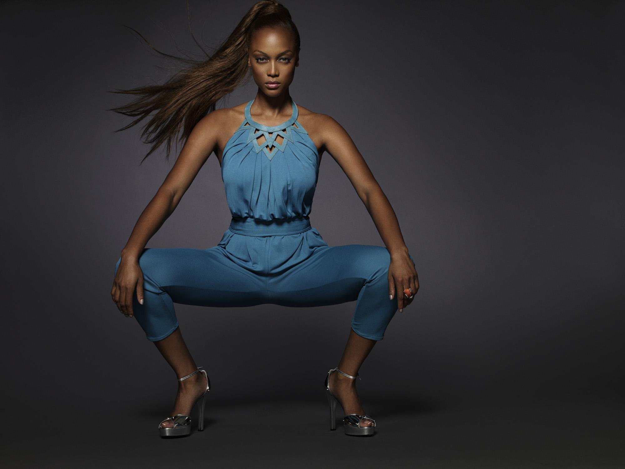 tyra banks super model poster